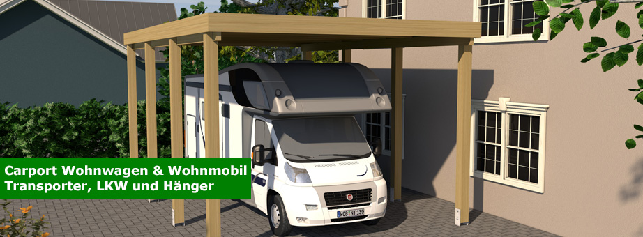 carport f r wohnwagen und wohnmobil caravan carport. Black Bedroom Furniture Sets. Home Design Ideas