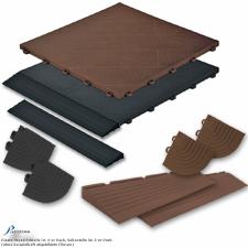 Plasto-Wood Randleiste und Eckteile