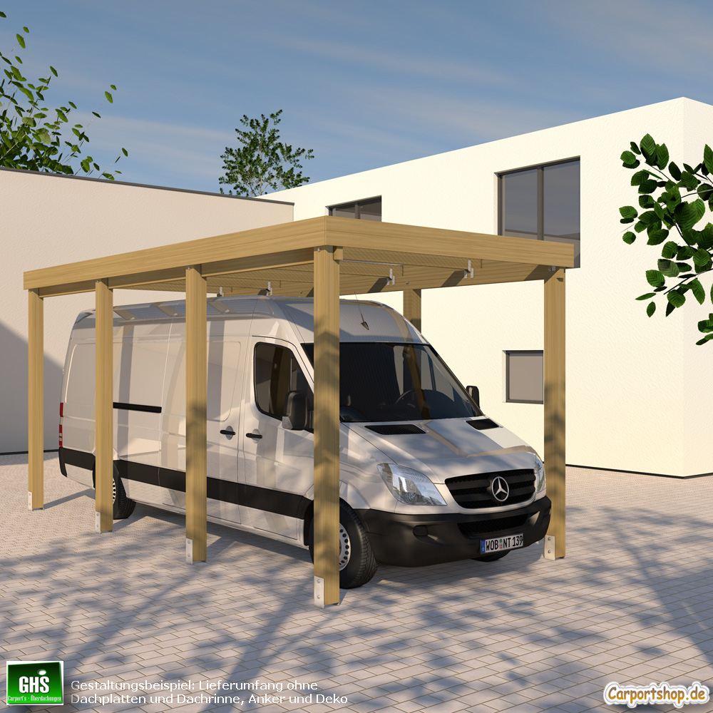caravan carport grundkonstruktion 3x6 typ 280 ohne dachbelag. Black Bedroom Furniture Sets. Home Design Ideas