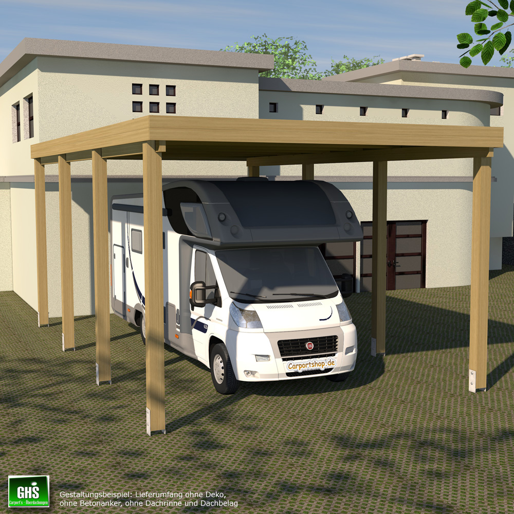 caravan carport grundkonstruktion 4x7 typ 280 ohne dachbelag. Black Bedroom Furniture Sets. Home Design Ideas