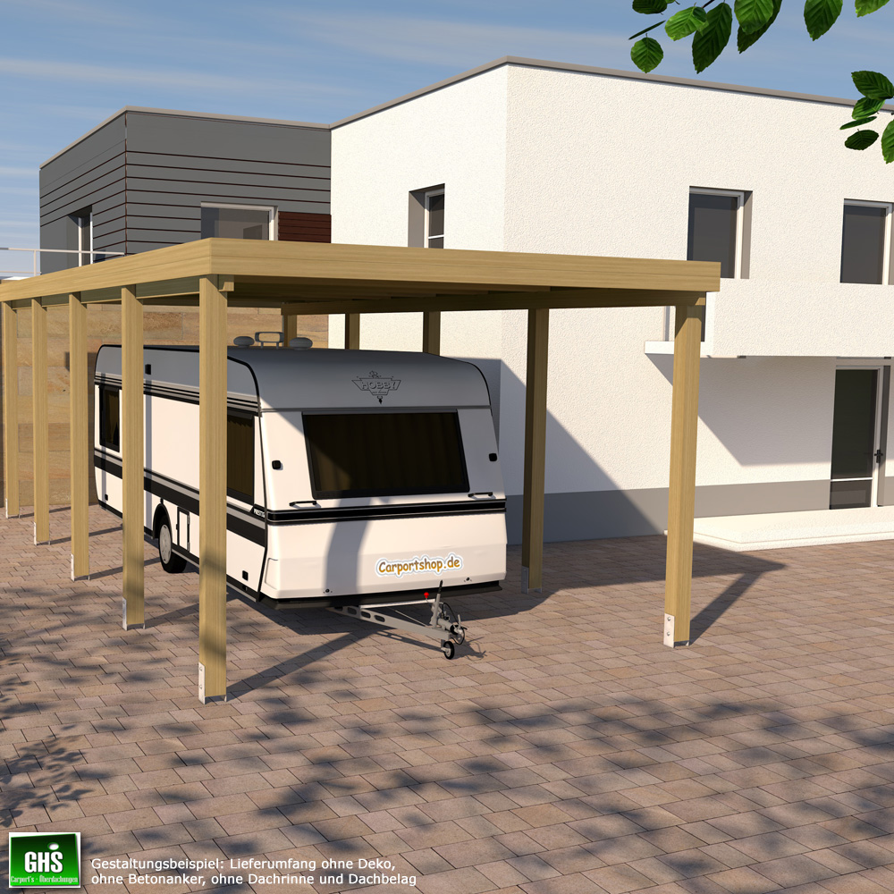 caravan carport grundkonstruktion 4x9 typ 280 ohne dachbelag. Black Bedroom Furniture Sets. Home Design Ideas