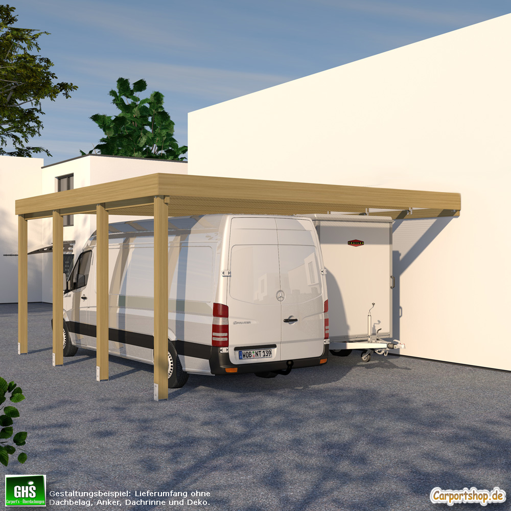 caravan anbau carport grundkonstruktion 6x6 typ 280. Black Bedroom Furniture Sets. Home Design Ideas
